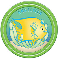 AngelFish Mascot MEDAL